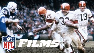 Jim Brown Delivers a Championship to Cleveland | Jim Brown: A Football Life | NFL Films