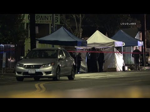 Florence Homicide / Los Angeles   RAW FOOTAGE