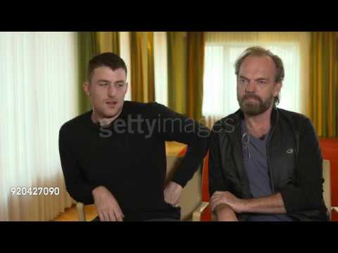 Hugo Weaving & James Frecheville Interview for Black 47 at the Berlinale 4
