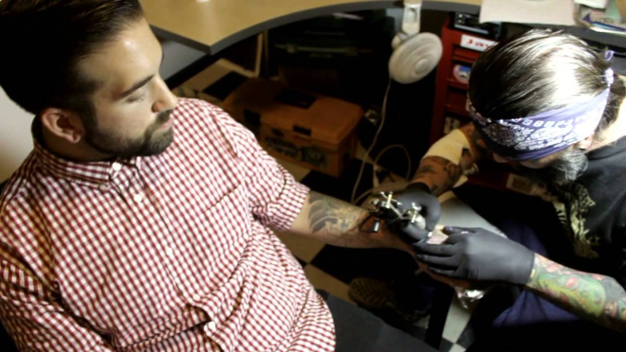 Top shelf tattoo gallery manchester nh youtube for Top shelf tattoos