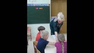 Занятие по обучению грамоте