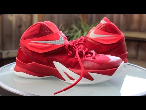 First Impression  Nike Zoom Soldier 8 - YouTube 817c6dffddbf