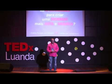 How To Get The Most Of Opportunities: Carlos Rosado De Carvalho/Journalist at TEDxLuanda 2013
