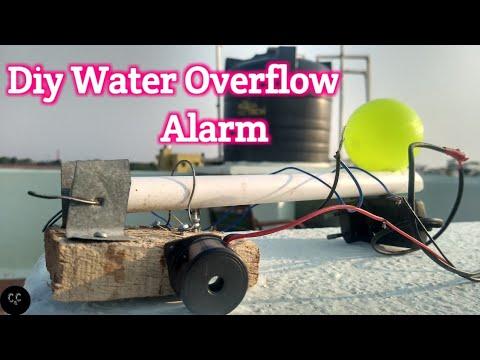 Diy Water overflow alarm./ For water tanks.