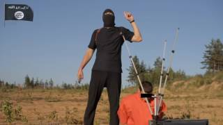 ИГИЛ неудачная казнь заложника Новости 28 10 2015 УКРАИНА РОССИЯ ДОНБАСС ДОНЕЦК
