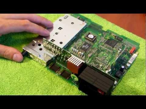 BM54 repair - Becker radio amplifier chip removal