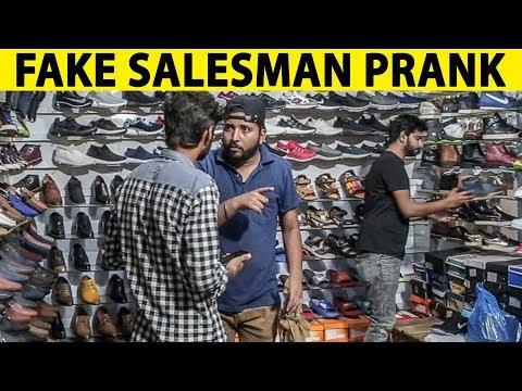 Fake Salesman at Shoe Shop Prank in Pakistan  Lahori PrankStar