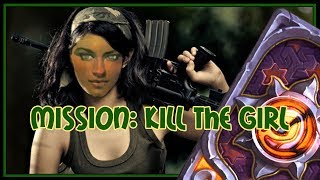 Hearthstone: Mission - kill the girl (combo priest)