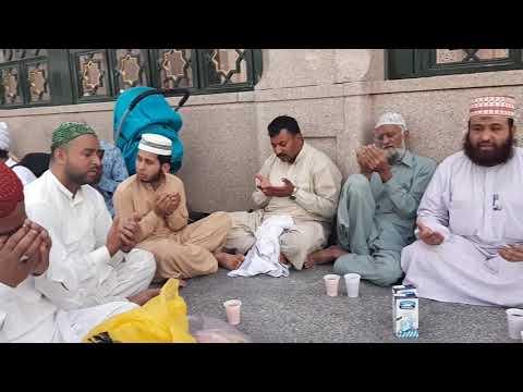 Dua E Iftar Syed Arif Attari 7 Ramzan Madina Sharif