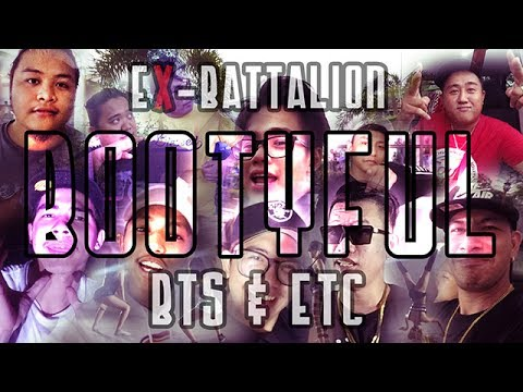 "Vlog #3 l Ex-Battalion ""BOOTYFUL MUSIC VIDEO"" bts and etc."