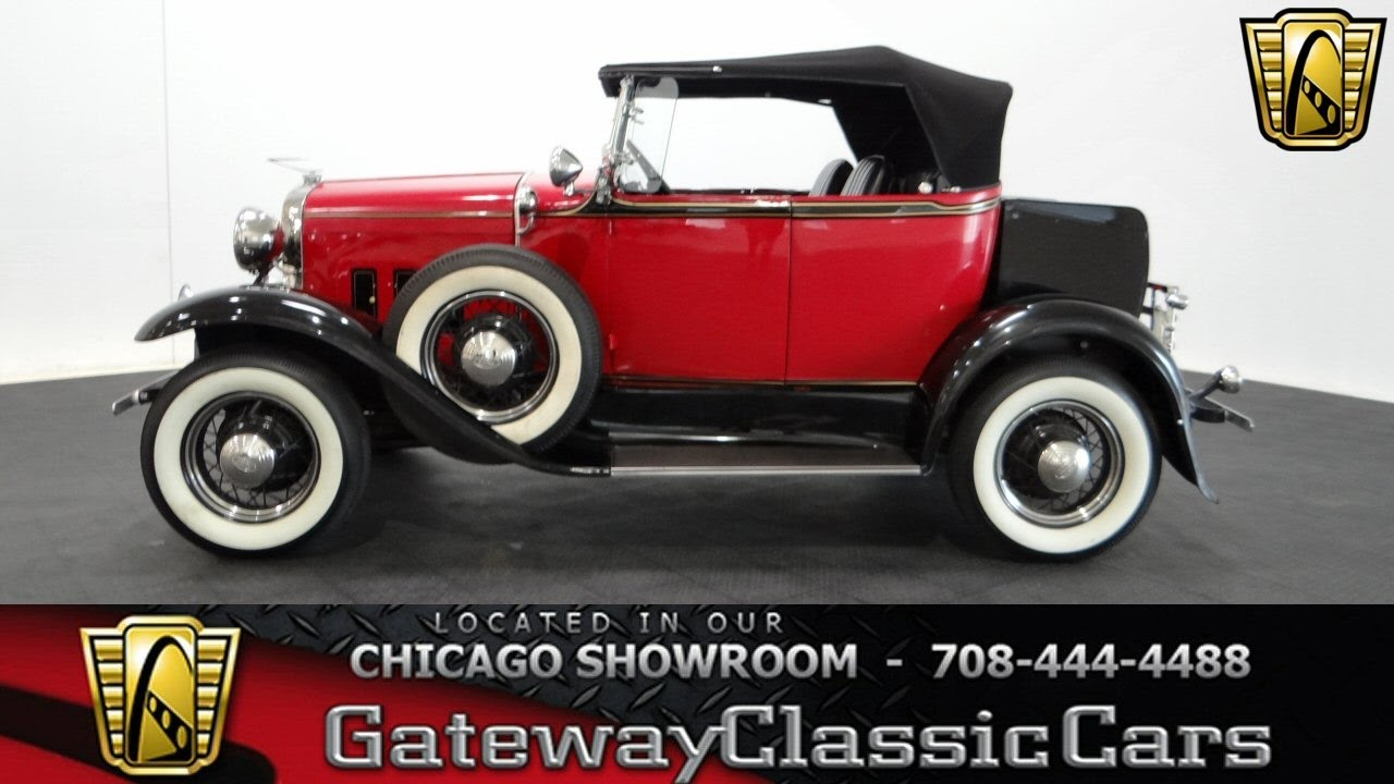 1931 Ford Model A Gateway Classic Cars Chicago #1131 - YouTube