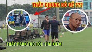 HLV Chung Hae Seong bỏ về, thầy Park tức tốc tìm kiếm mời vào ngồi xem ĐT tập luyện | Ted Trần TV
