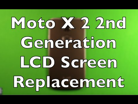 Moto X (2nd Gen) Screen Replacement Repair How To Change