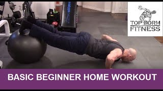 Basic Beginner Home Workout