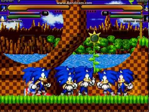 Sonic Free For All Mugen 2018