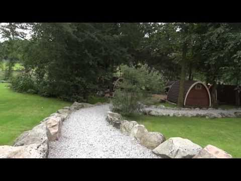 Eskdale Camping Pods Cumbria Lake District - Reception, Parking and Pods HD VIDEO