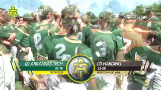 Tech Baseball vs. Harding Highlights - Game 2 - 5/6/17