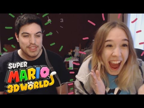 Super Mario 3D World Gameplay Español Parte 6: ¡¡TENGO EL PODER DE TWITTER!!