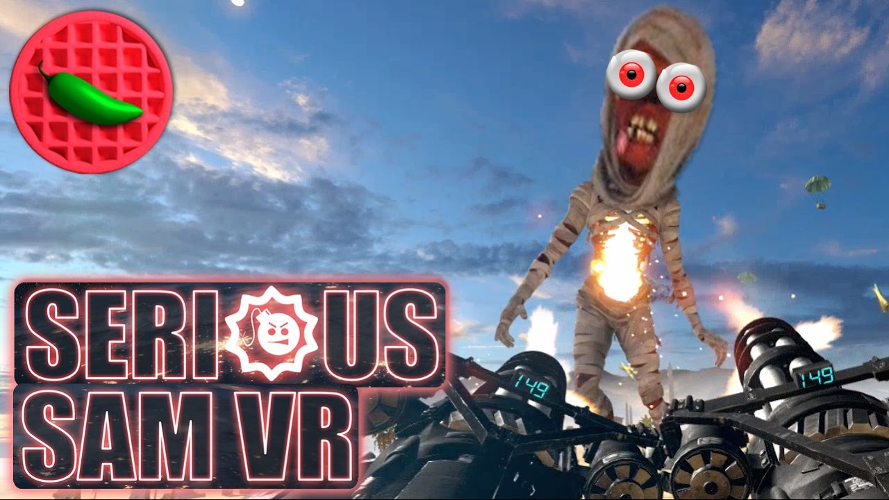 Download SERIOUS VR SLAUGHTER! -- Let's Play Serious Sam VR: The Last Hope (HTC Vive VR Gameplay)