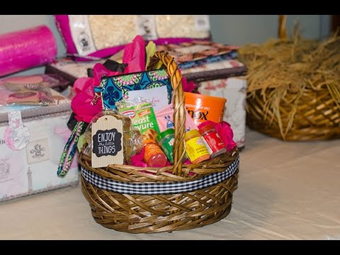 Easy and affordable gift basket tutorial youtube negle Choice Image
