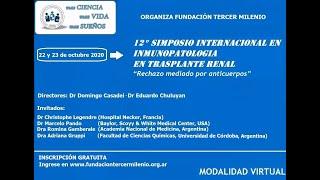 XII SIMPOSIO INTERNACIONAL EN INMUNOPATOLOGIA EN TRASPLANTE RENAL