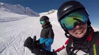 Ski VLOG - Caverne de glace - Glacier de Pitztal, Autriche - 9 novembre 2017