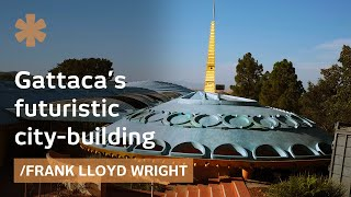 Frank Lloyd Wright's Futuristic City-building Or Norcal Spaceship?