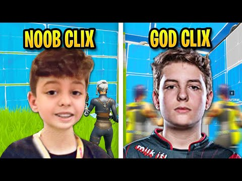 The Evolution Of Clix Editing & Building Speed...
