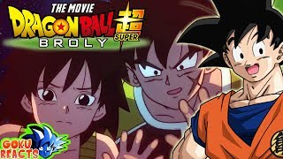 Goku Reacts To Dragon Ball Super Movie: Broly – English Dub Trailer 2