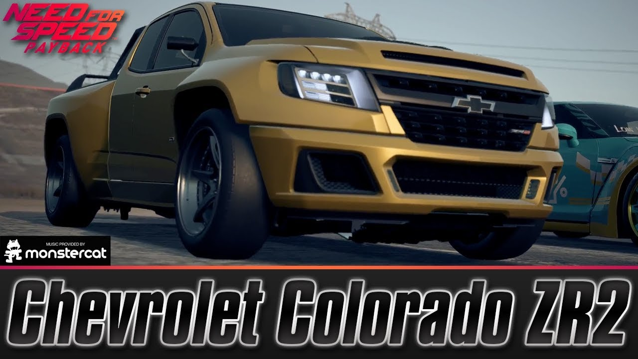 Need For Speed Payback Chevrolet Colorado Zr2 Race Build Lv399