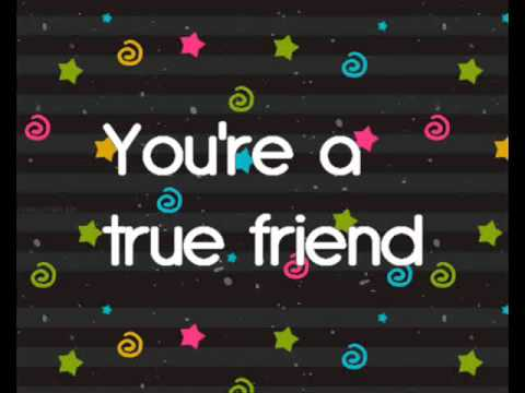Miley cyrus - True friend ( lyrics )