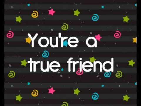 Miley Cyrus - True Friend ( Lyrics )