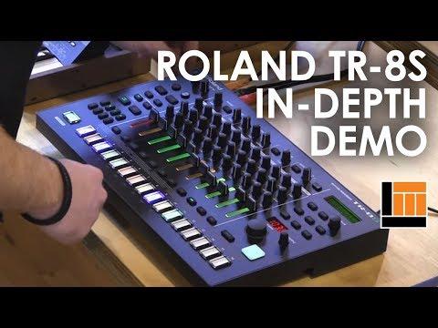Roland TR-8S Rhythm Performer [In-Depth Demonstration]