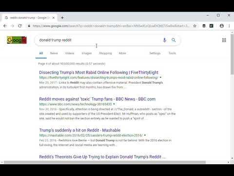 Google Makes It Hard to Find Trump's Biggest Online Fan Club