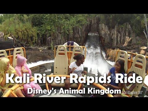 [HD] Kali River Rapids Raft Ride POV - Disney