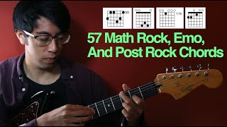 Math Rock And Emo Chords: Every Chord You Need
