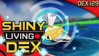 SO LUCKY! SHINY MAGIKARP!! Live Reaction! Quest For Shiny Living Dex #129 | Pokemon ORAS
