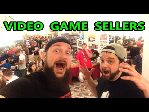 VIDEO GAME SELLERS EP. 134 - SOUTHEAST GAME EXCHANGE 2017  | Scottsquatch