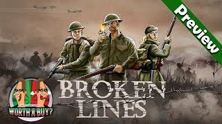 Broken Lines Preview - WWII Tactical RPG