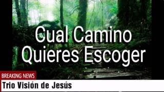 TRIO VISIÓN DE JESÚS - CUAL CAMINO QUIERES ESCOGER