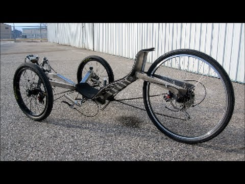 DIY Recumbent Warrior Trike - YouTube
