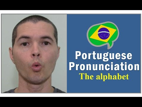 👅 Brazilian Portuguese Pronunciation Lessons - The Alphabet