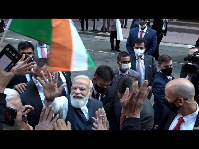 NYC Rally in Support of PM Modi's US Visit | Vision of Asia - Community News | Mon Sept 27