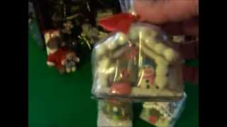 Miniature Gingerbread House & Gingerbread Boys From The Dollar Tree Store
