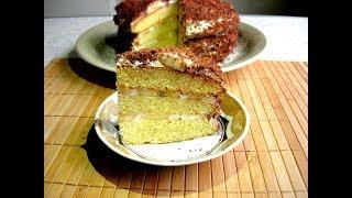 Торт «БАНАНОВЫЙ КАПРИЗ» - Нежный Крем и Вкуснейшие Коржи   Светлана Аниканова