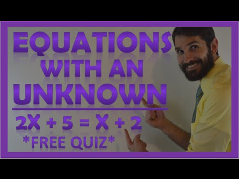 Equations with One Unknown Variable | Algebra Review: ATI TEAS V, HESI, ACT, SAT