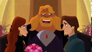 Rapunzel's Tangled Adventure - Stalyan  and Eugene Marriage Proposal - Beyond the Corona Walls