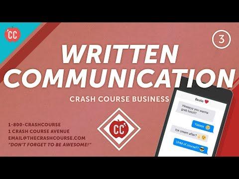 The Secret To Business Writing: Crash Course Business - Soft Skills #3