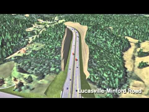 Southern Ohio Veterans Memorial Highway animation - YouTube