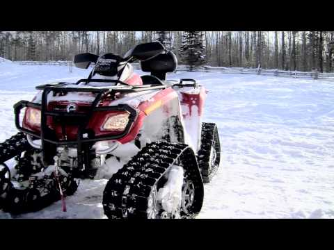 Can-Am 800 with Apache Track System in HD